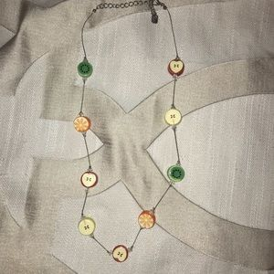 Jewelry - Fruit slices necklace